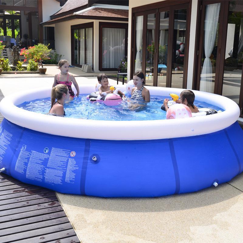 야외 풍선 수영장 마당 정원 가족 아이들은 큰 성인 유아 풍선 수영장 아동 오션 패들링 풀 플레이