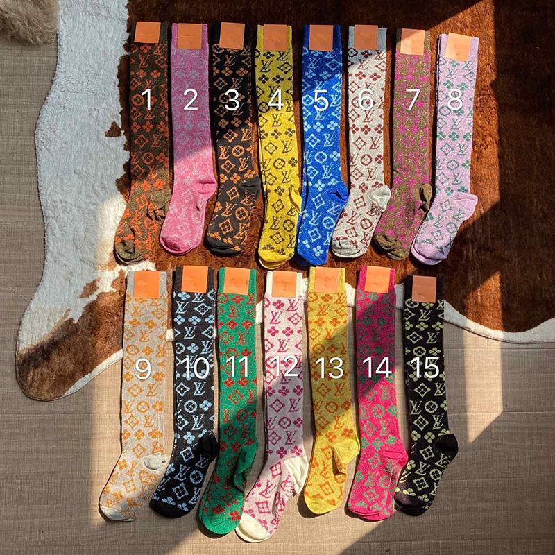 15 Renkler Kişilik Kadınlar Hip Hop Kaykay Çorap INS Moda Bayan Pamuk Çorap High Street Sport Çorap