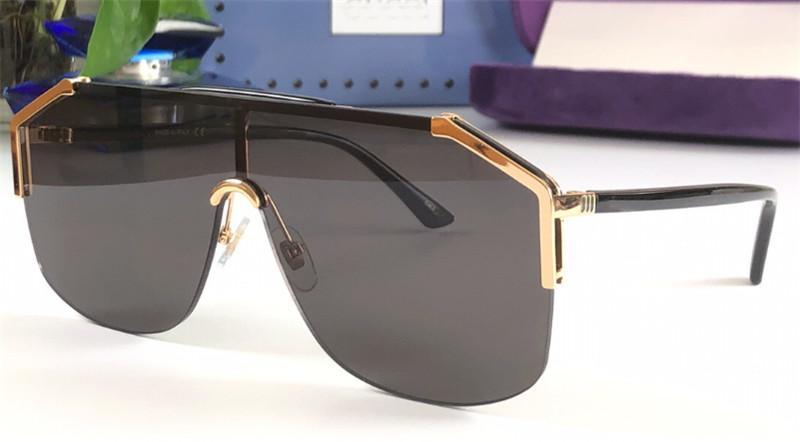 Qualité de lunettes de soleil en plein air lunettes de soleil 0291 lunettes ornementales sans cadre UV400 Protection Simple avec de nouvelles lunettes de conception de lentilles TOP C TMQB