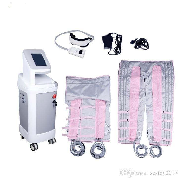 Yeni 24 Bölgeler Pressotherapy Basınç Zayıflama Detoks Yağ Kaybı Makinesi Vücut Wrap Hızlı Ince Güzellik Ekipmanları