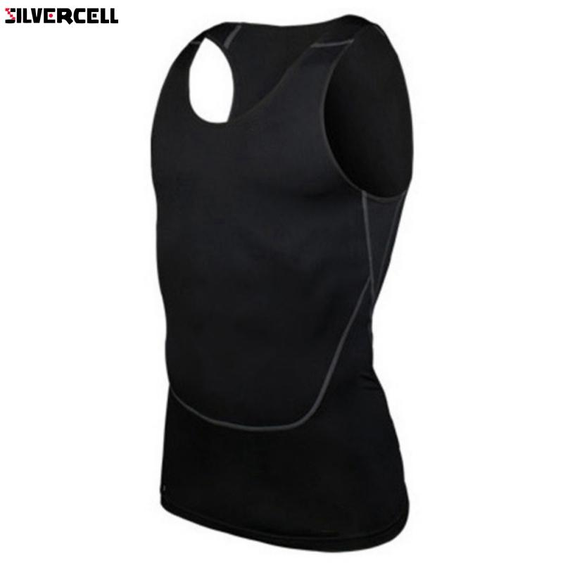 Chic Men Compression Base Line Fitness Sleeveless Shirt-Weste atmungsaktiv Top