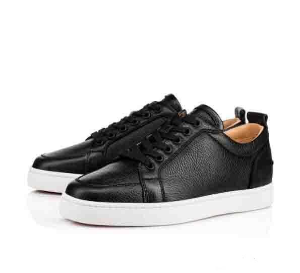 İyi Marka Kırmızı Alt Erkekler Oralto Sneakers düşük ayakkabı Rantulow Genç Düz Erkekler Geunine Deri Beyaz Siyah Açık Trainer