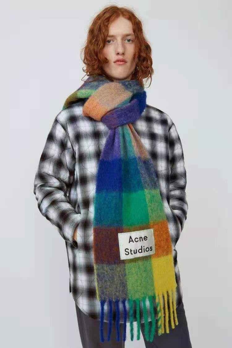 All'ingrosso-cachemire sciarpa di pashmina per le donne e del doppio di modo gli uomini indossano calda coperta Sciarpe sciarpe in cashmere cotone Sciarpa