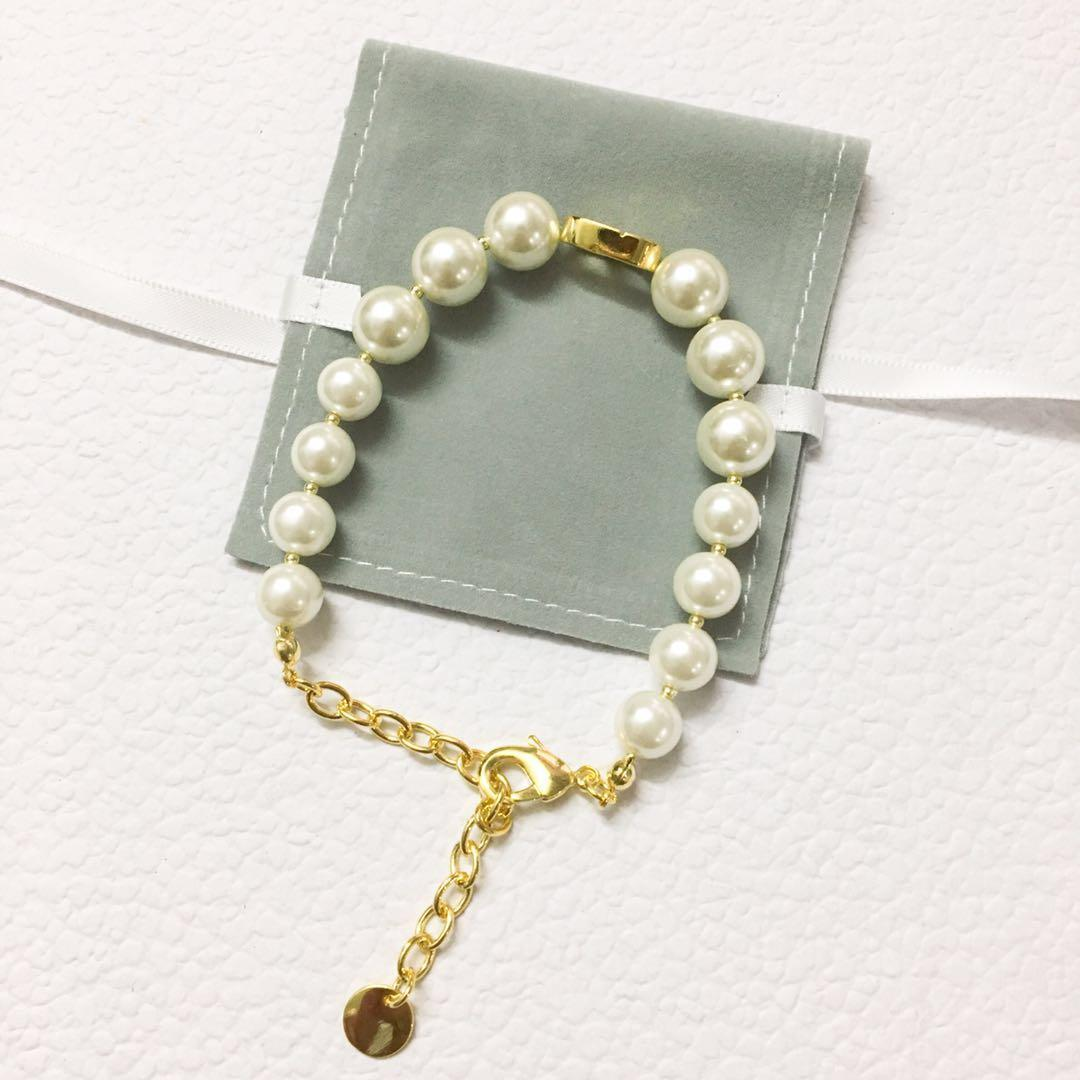 Tiene marca de moda pulseras sellos de diseño de collar partido señora de las mujeres amantes de la boda joyería de lujo de regalo de compromiso con la CAJA DHB0418