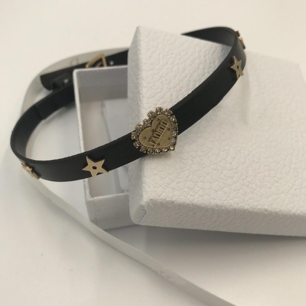 New Imported Calfskin Love Diamond Designer Jewelry Womens Wild Designer Necklace