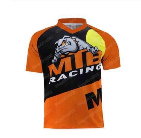 MTB Downhill vestito degli uomini a maniche corte magliette e Camicette Abbigliamento Ciclismo Moto Equitazione vestiti di sport all'aria aperta in discesa abbigliamento a maniche corte magliette e camicette