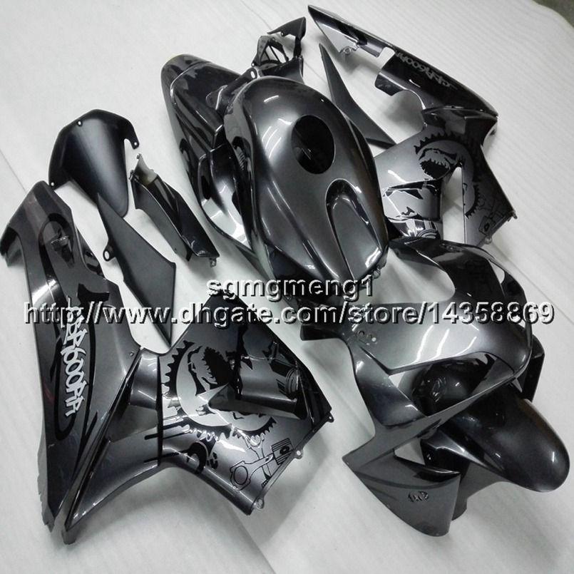 23colors + Gifts Spritzguss-Silbergrau Motorrad Verkleidungsrumpf für HONDA CBR600RR 2005-2006 ABS-Motorplatten