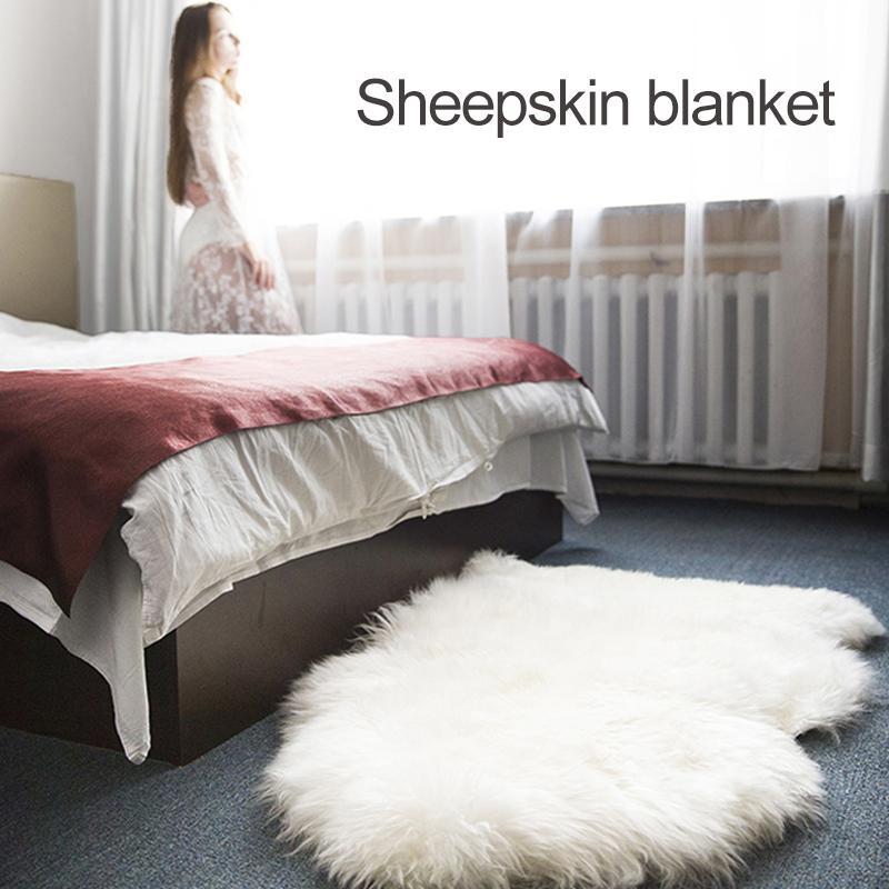 Tappeti 60 * 40 * 2 Divano stuoia del pavimento Moquette imitazione di lana di pecora artificiale Poliacrilonitrile fibra copriletto Camera Moda