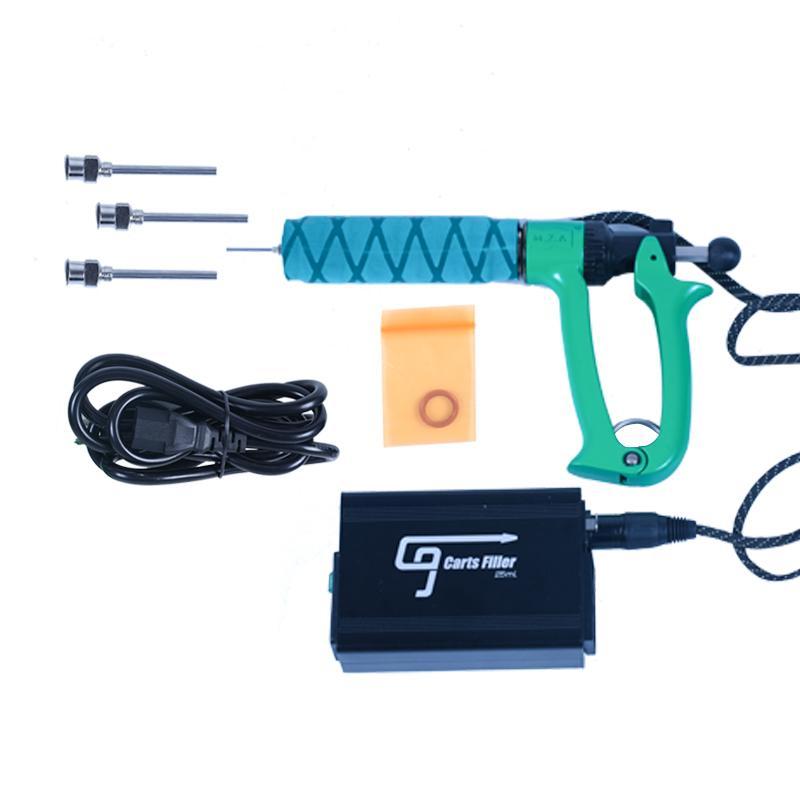 Greenlighvapes Newest Portable Handheld Semi Automatic Oil Filling Carts Filler Gun Vape Cartridge Filling Machine For Dab Vape Pen