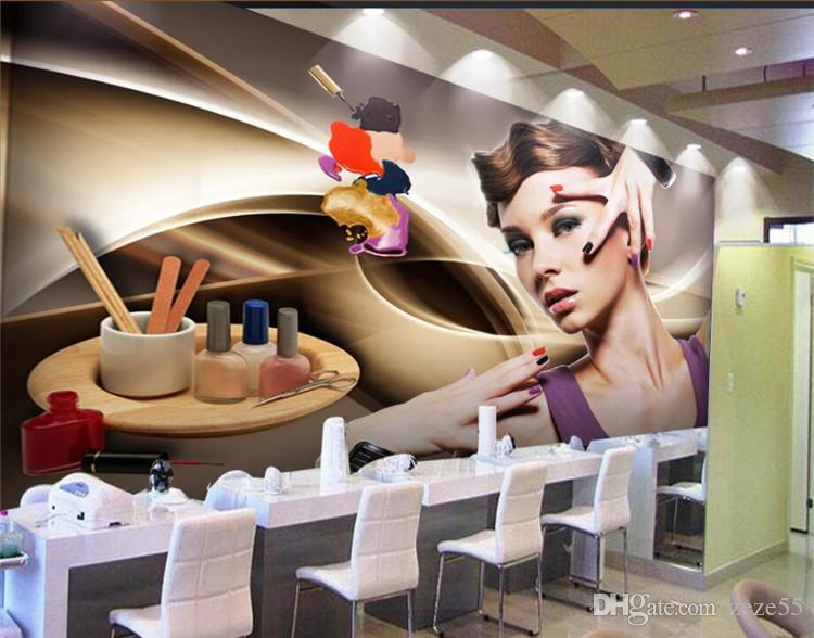 Custom 3d Wallpaper Murals Beauty Salon Manicure Beauty Poster Tooling Wall Paper Living Room Bedroom Tv Background Nature Wallpapers Paintable Wallpaper From Zeze55 16 92 Dhgate Com