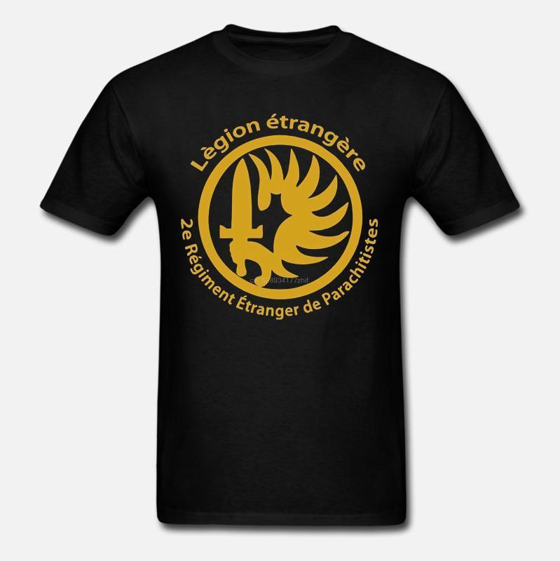 Мужчины футболка новый французский Иностранный легион Спецназ война армия футболка новинка футболка женщины
