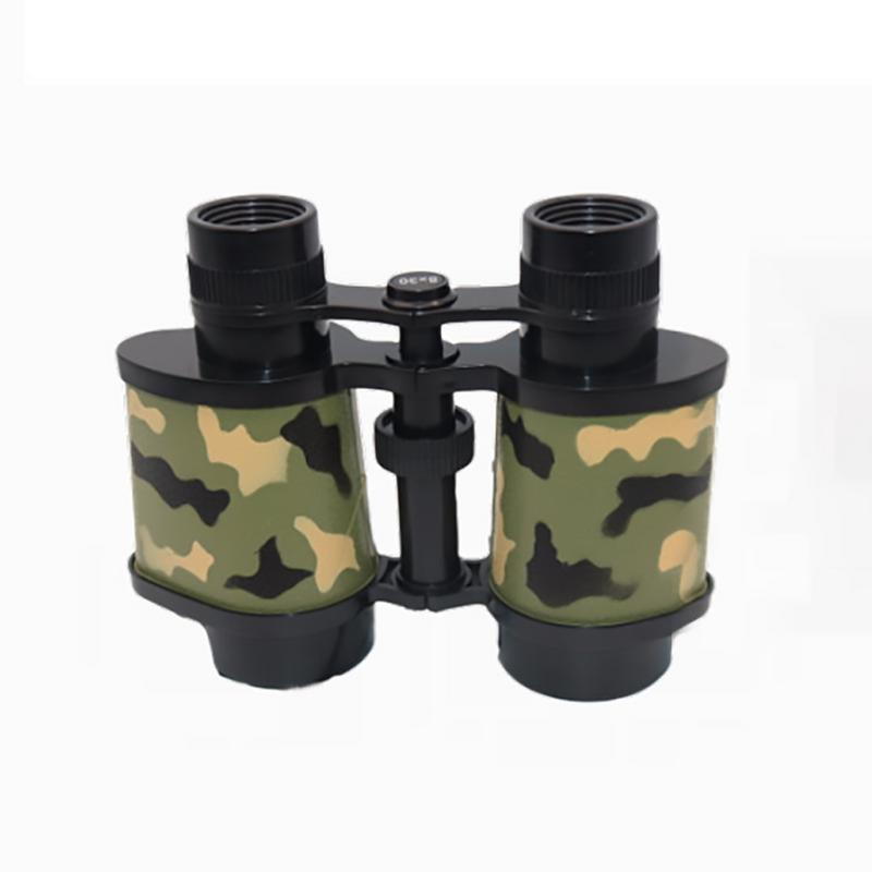 Cmilitary Camouflage 8x30cm/3.15*11.81in Shock Proof Telescope Outdoor Toy Binoculars For Children