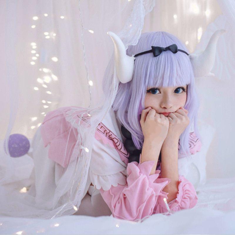 Kanna Kamui Kamuy cosplay disfraces falda anime japonés Miss Kobayashi's Dragon Maid ropa Masquerade / Mardi Gras / Carnival disfraces suministro