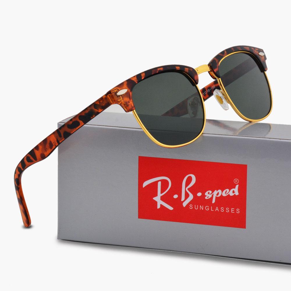 Vente en gros - Lunettes de soleil pour hommes, femmes, mode classique, lunettes de soleil polarisées, lunettes de protection, lunettes rétro, étuis bruns et boîtes gratuites