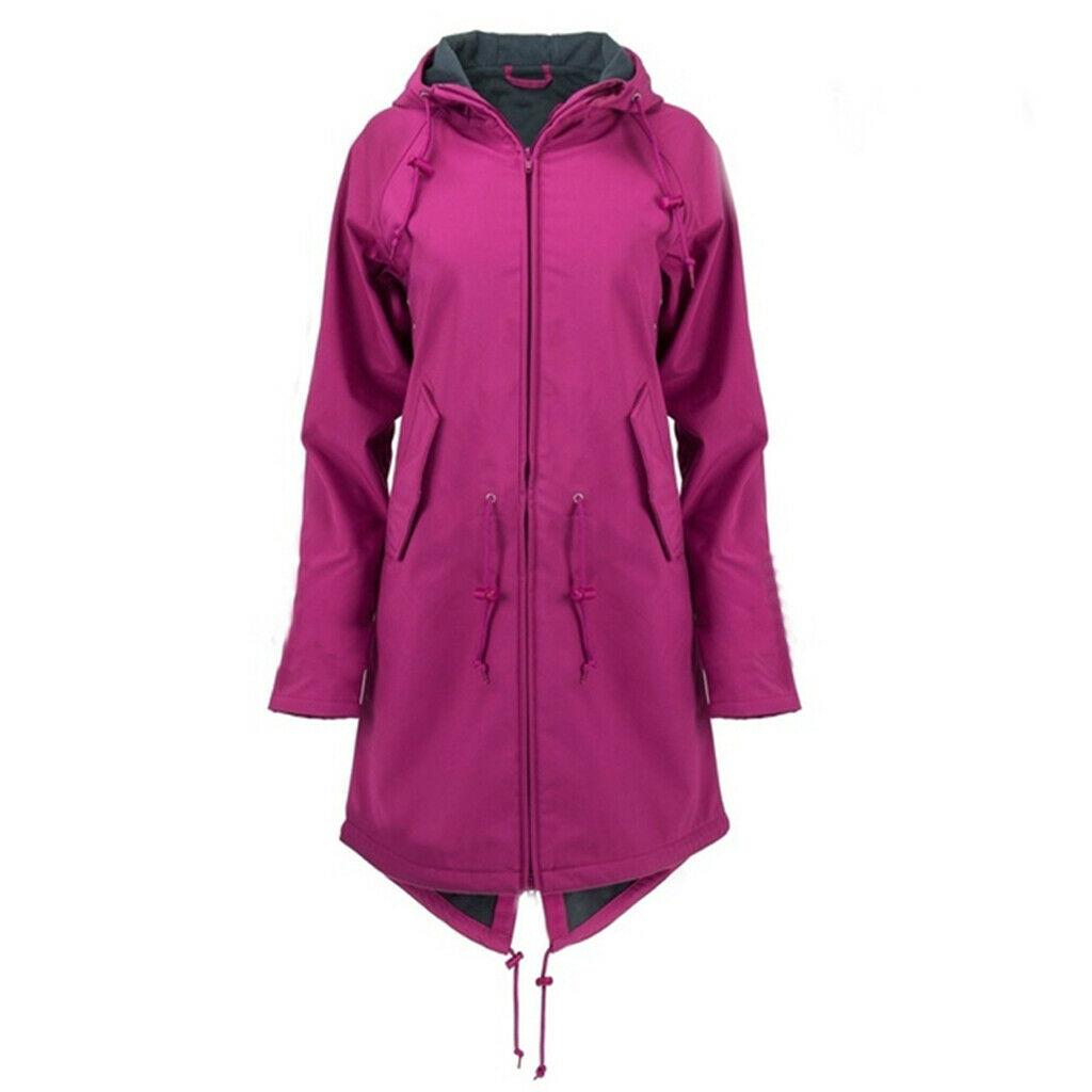 Women's Raincoat Festival Waterproof Outdoor Coat Jacket Hooded Mac