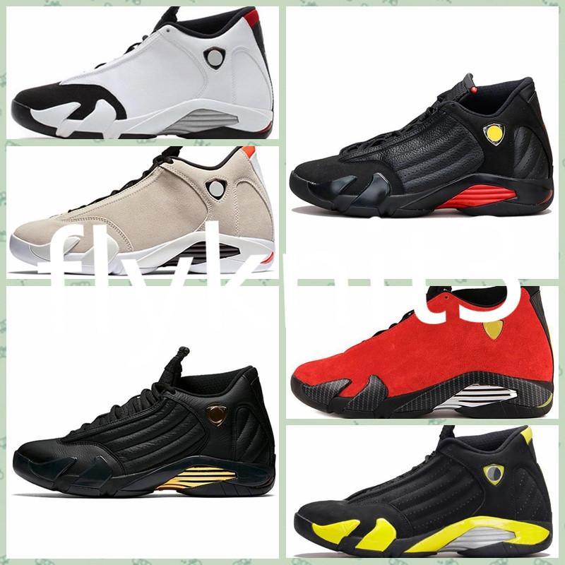 compre nike air jordan 14 retro aj aj14 mujeres 14s al aire libre zapatos jumpman 14 negro rojo dorado amarillo rosa blanco chicos chicas jóvenes ni