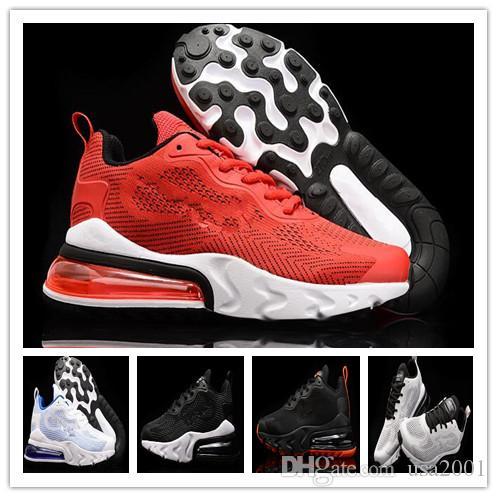 2020 Air Max 270 React v3 Hommes Femmes Chaussures de course max 27c v3 3.0 chaussures de sport en plein air formateurs respirant taille Sneakers 36-45