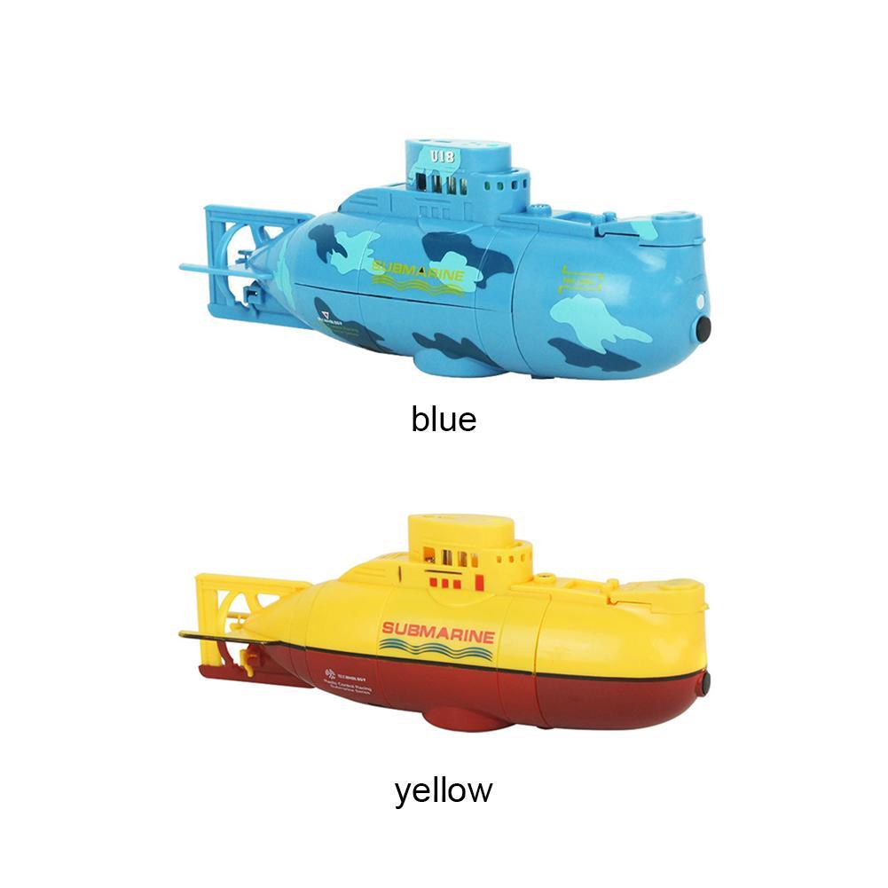 Mini RC Denizaltı Hazır Çalıştır Sürat teknesi Modeli Yüksek 3.7V Büyük Model RC Denizaltı Açık Oyuncak Powered