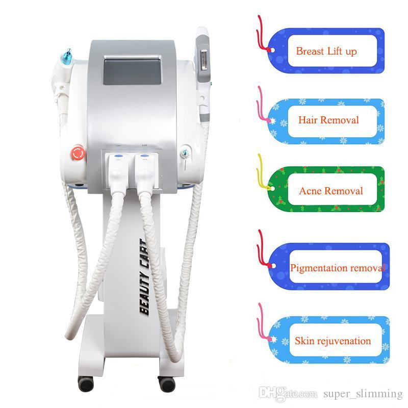 2019 meilleur elight thérapie vasculaire équipement d'épilation au laser Elight système de suppression de pigmentation de la peau
