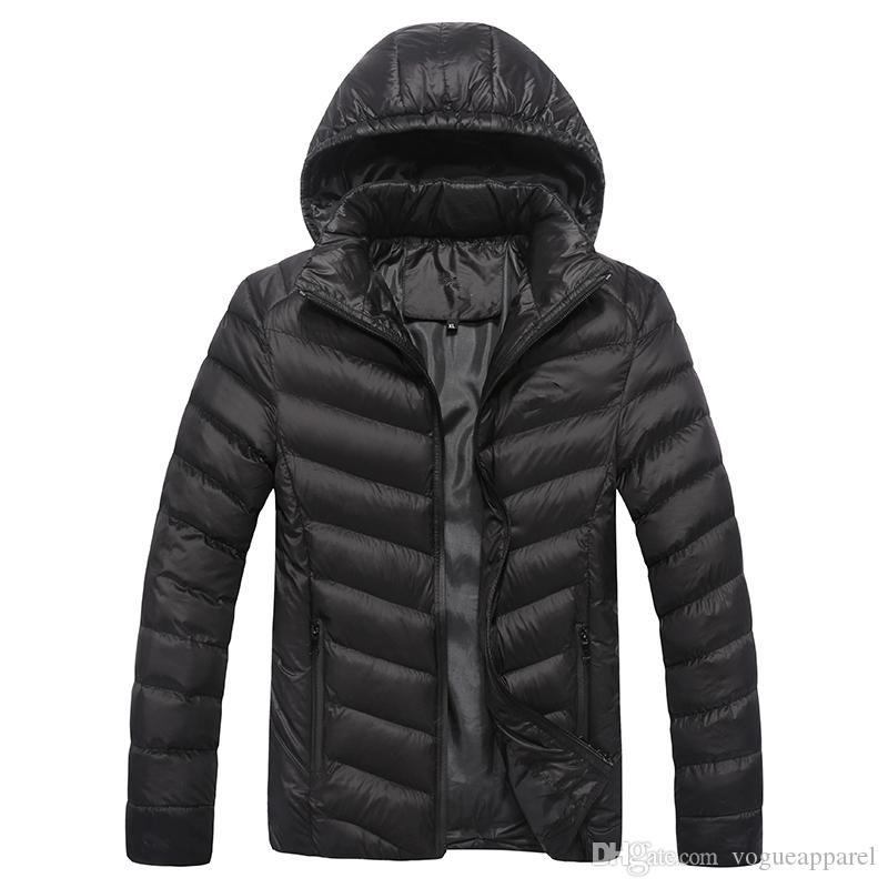 Mens hiver designer manteaux coton noir bleu rouge épais chaud vestes homme marque pas cher vêtements livraison gratuite