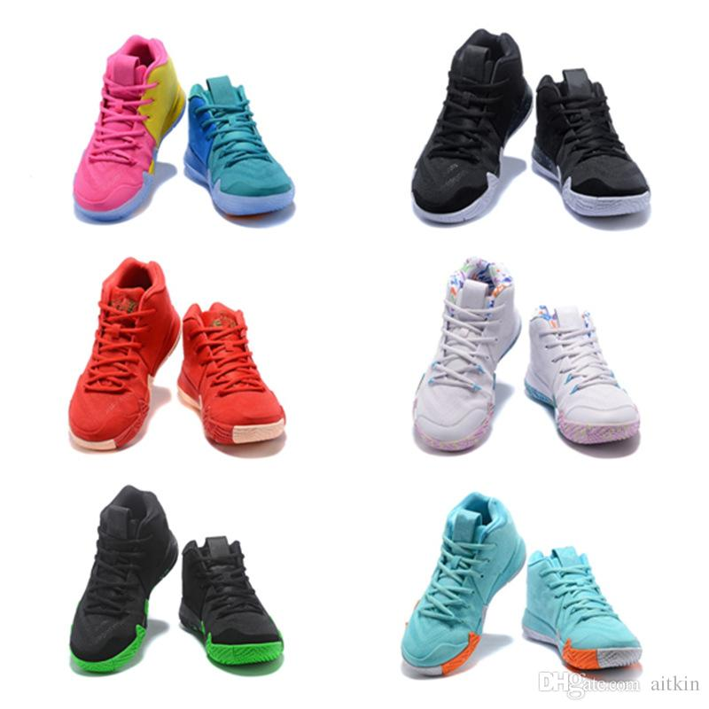 kids Basketball Shoes Best Quality 4 IV EP Children Youth 4S Multicolor Purple Yellow Halloween BHM big boy girl Sports Sneakers 36-40
