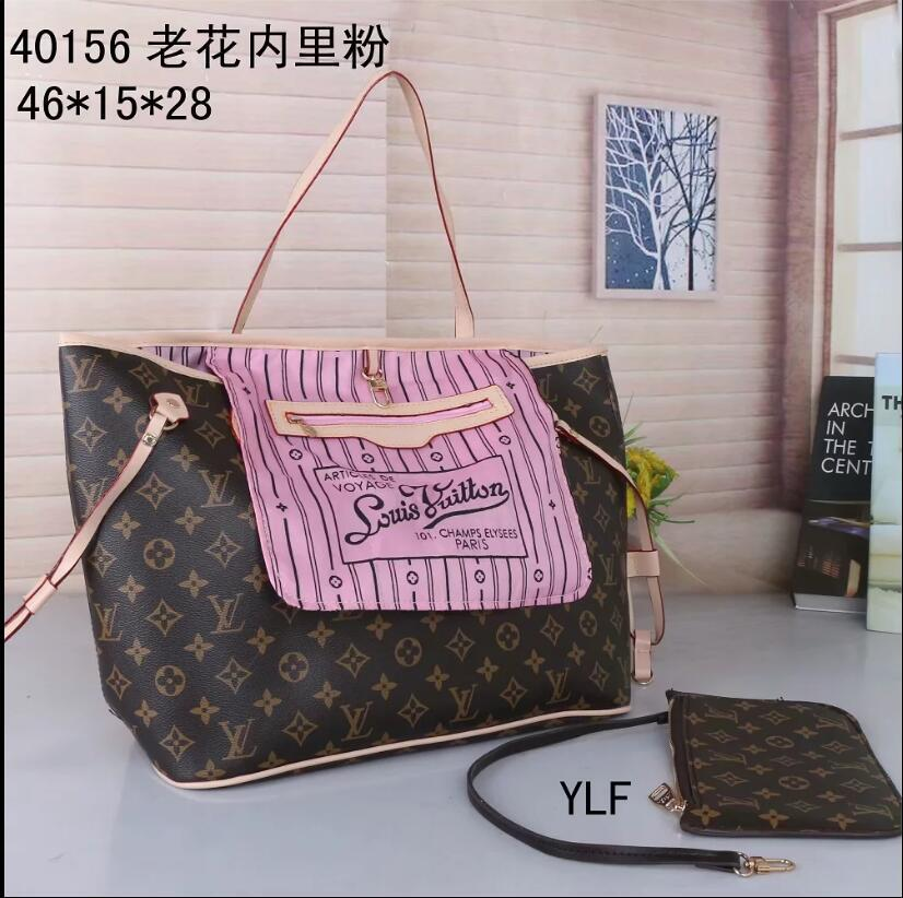 wholesale quality 2020 women brand bags luxury lady PU leather handbags famous Designers brand bags purse shoulder tote Bag 40156-b