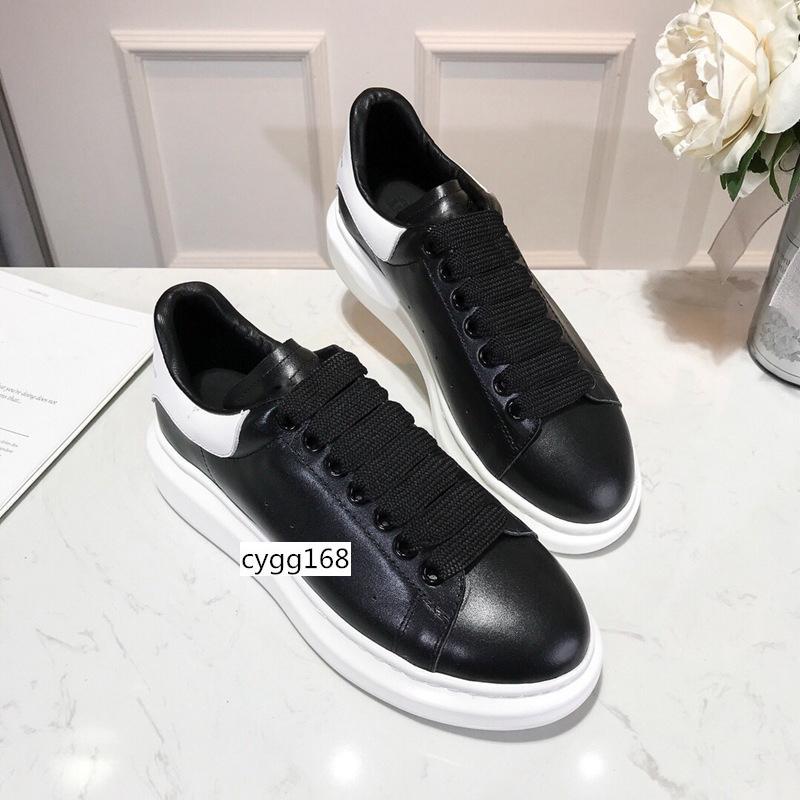 Progettista caldi di vendita Scarpe partito del vestito ragazze di Ladys delle donne scarpe bianche di velluto nero in pelle riflettente Mens Sneakers Casual