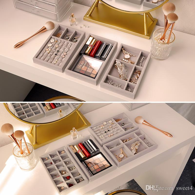 2020 New Drawer Diy Jewelry Storage Tray Ring Bracelet Gift Box Jewelry Organizer Earring Holder Most Room Space S M Size Options From Sweet4 4 87 Dhgate Com