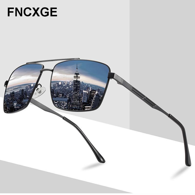 2020 Erkek Güneş Gözlüğü Polarize Erkekler Güneş Gözlükleri Erkek Retro Sürüş Vintage UV400 Gözlüğü Kadınlar Açık Gözlükler 202023