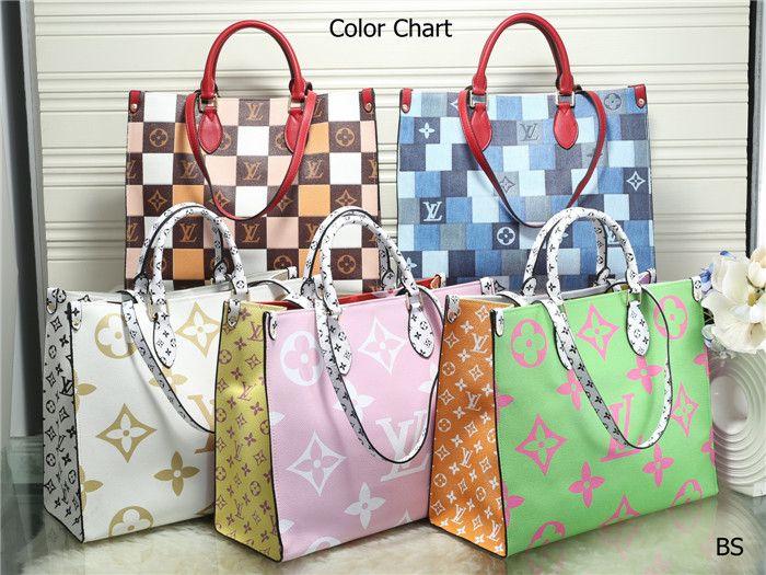 2020 BORSE D189 nuovi stili di pelle Nome borsa Famoso borse delle donne dei sacchetti di Tote della spalla della signora Borse di pelle Borse di spal
