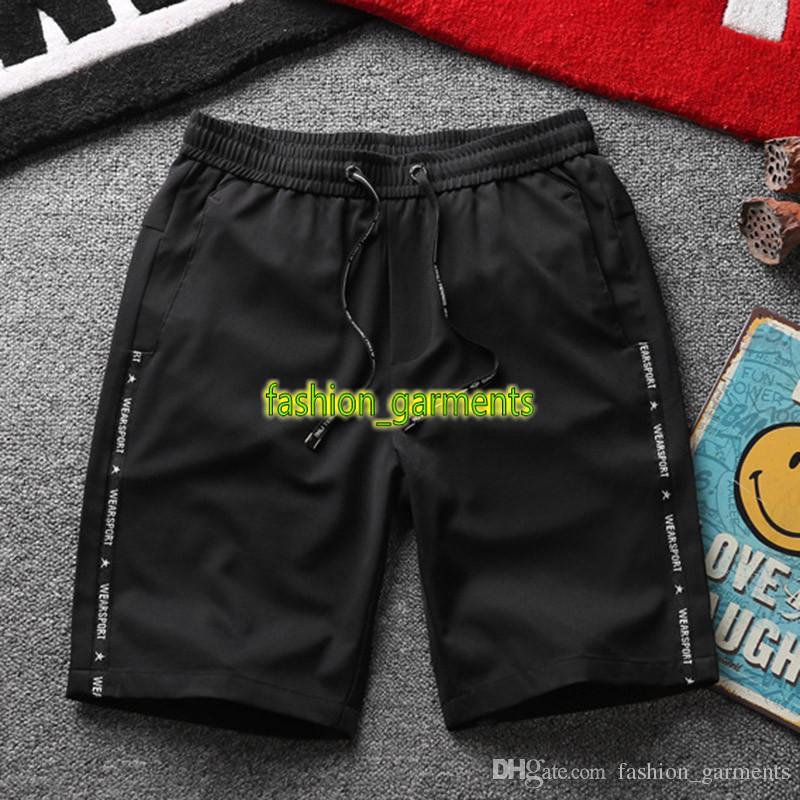 Nueva pantalones para hombre de la playa ocasional casuales para hombre Pantalones cortos de secado rápido pantalones deportivos para hombre verano stylistShorts Negro Gris Azul 3 colores