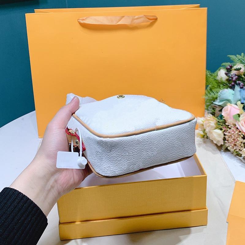 Bolsa de alta calidad de 2020 mujeres de la marca Cross Body Bags de hombro de la vendimia 2 colores bolsa de mensajero totalizadores clásicos