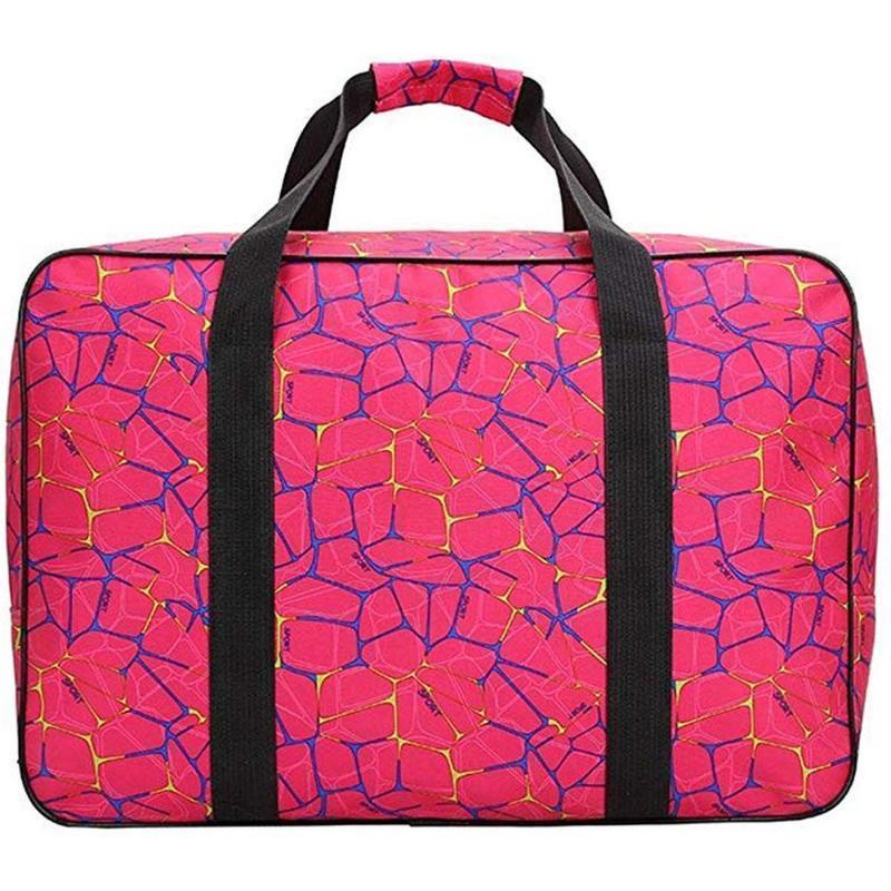 Moda de mano de gran capacidad de coser sacos máquina portátil Herramientas multifuncional bolsa de almacenamiento de coser bolsos de mano de uso en el hogar Viajes