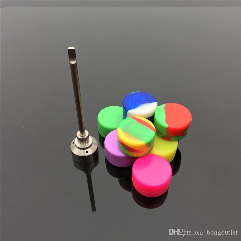 Produttore all'ingrosso chiodi di titanio tappo carb titanio con titanio dilettarsi sulla parte superiore libera con la ciotola slicone