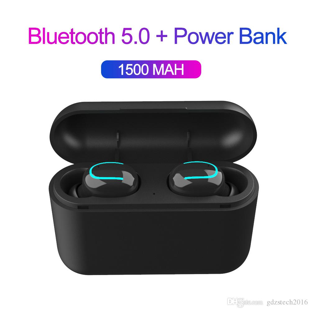 Latest Q32 Bluetooth 5.0 Earphones Tws Wireless Stereo Apt-x Earbuds Headset Sport Music In Ear Headphones For iOS Android PK HBQ