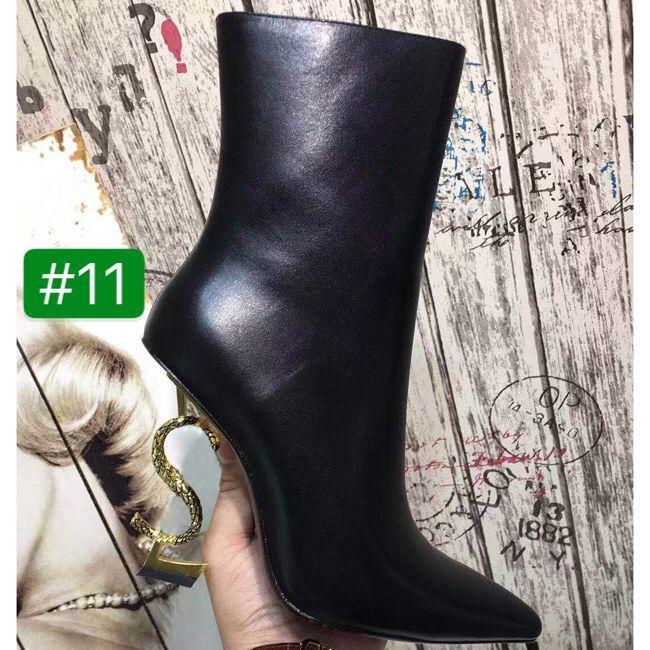 أعلى جودة جلد الغنم داخل أشار تو التشويق كعب النساء الكاحل مصمم الفاخرة إلكتروني جلد أسود عالية الكعب النساء الأحذية مع مربع