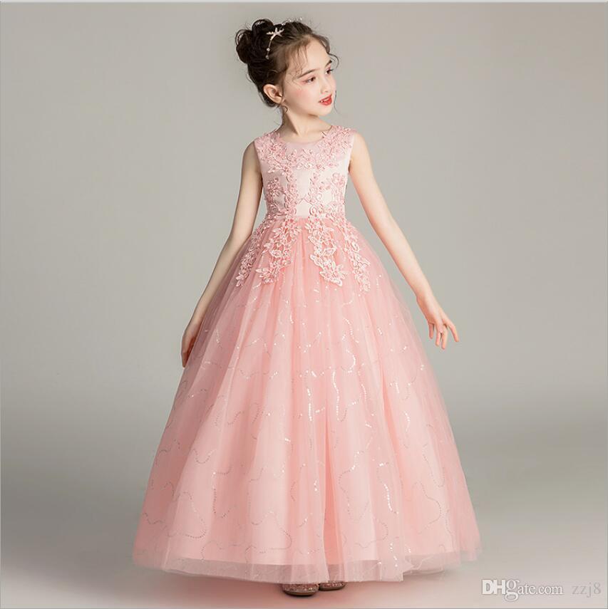 Acheter Robes De Mariage Pour Enfants Longues