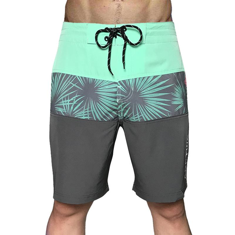 2020 New Quick Dry Sommer-Männer-Druck-Strand Board Shorts Swimwear Sommer Badehose Male Shorts Marken-Kleidung Drop-Shipping T200605