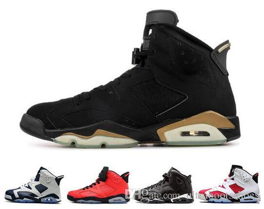 New Men/'s Sport Shoes Air J 6 High Top Breathable Basketball Sneakers Size 7-13