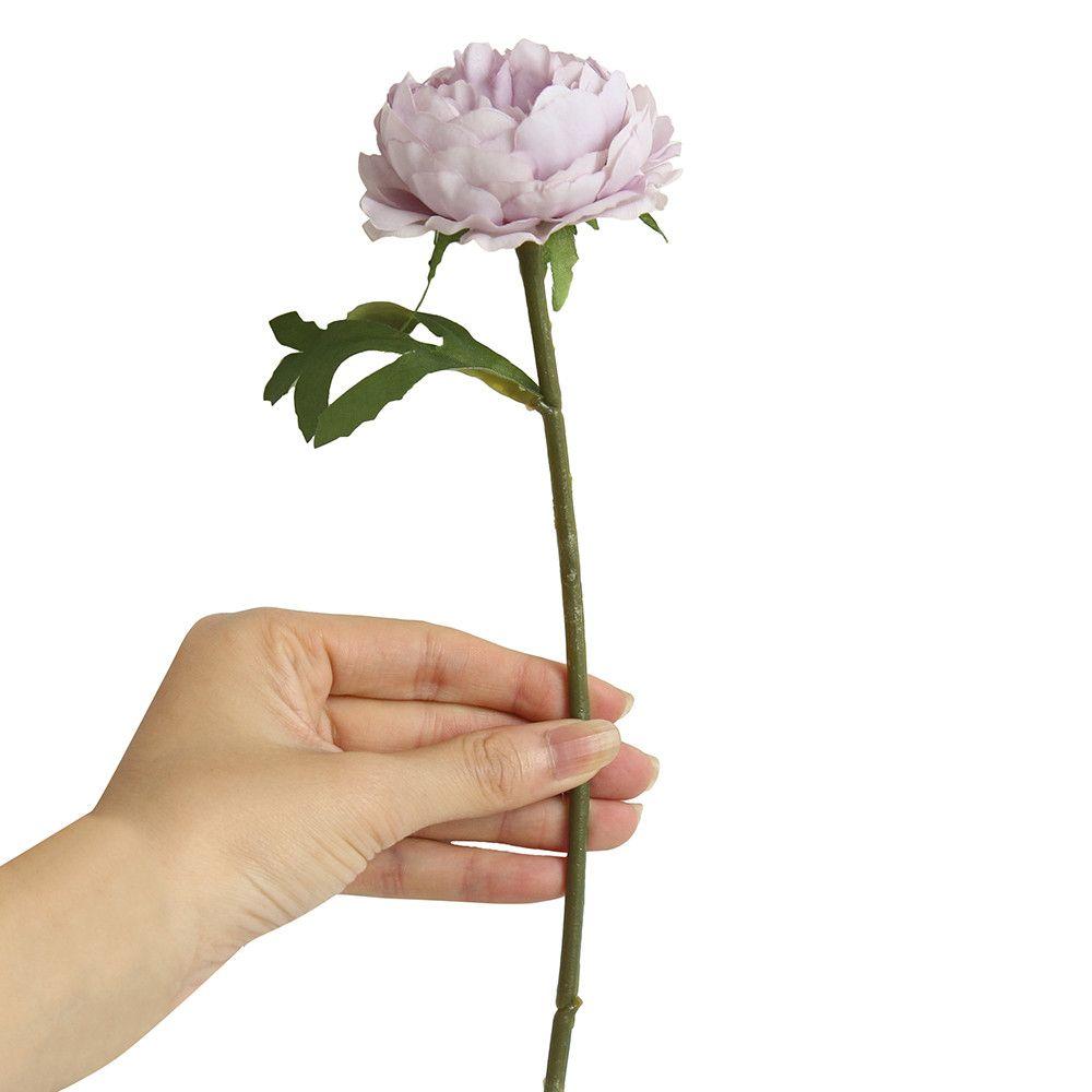 Cloth Artificial Fake Western Rose Flower Peony Bridal Bouquet Wedding Party Home Decor Beautiful Vase Home Decor Wedding 19MAR5