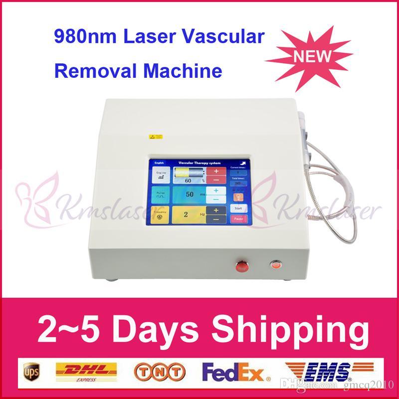 La macchina di rimozione delle vene del ragno del laser della clinica vascolare allevia il dispositivo di rimozione del vaso sanguigno del laser a diodi di lunghezza d'onda 980nm di trattamento