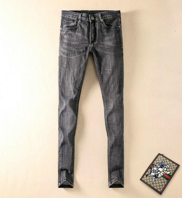 Erkek kot moda rahat pantolon boyutu 29-38 konforlu eğilim WSJ000 # 112702 wzk522