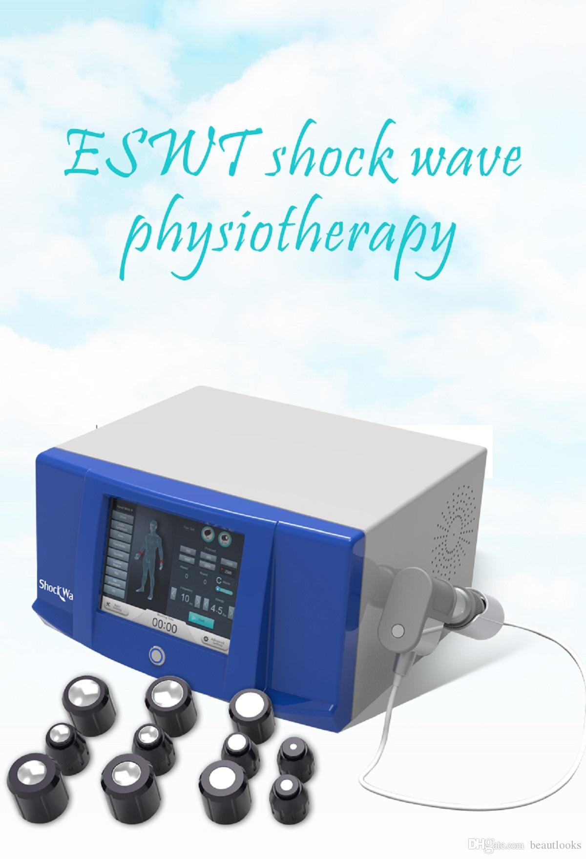 alivio Dolor articular onda de choque profesional terapia de la máquina 6 bar terapia de ondas de choque \ terapia de la máquina de ondas de choque neumático para ED
