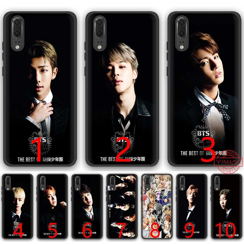 factory price 2dcfb 8cf7d Bts Bangtan Boys Taehyung Kpop Music Soft Silicone Black TPU Phone Case For  Huawei P8 P9 P10 P20 Lite Pro P Smart Cover Custom Phone Cases Phone Cases  ...