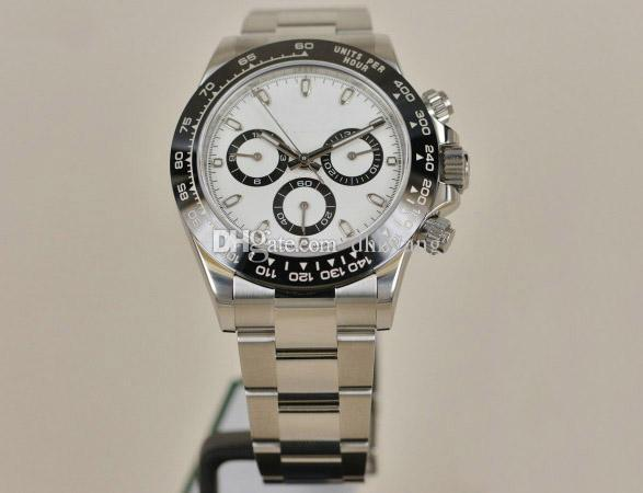 Deluxe Männer Uhren Top Qualität Automatikwerk 116500LN 40mm Mechanische Uhren Edelstahlband Herren Armbanduhr OROLOGIO DI LUSSO