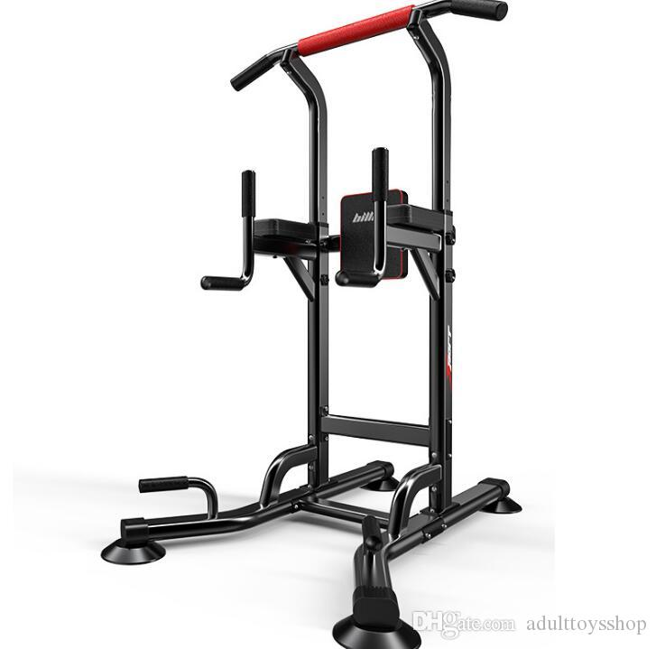 Fabrika doğrudan çok fonksiyonlu tek paralel bar pull-up için adanmış yatay çubuk ev fitness ekipmanları Sınır ötesi raf