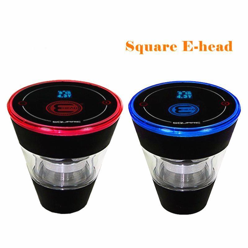 Square e head ehead e hose mini shisha Square Cartridge Refillable ehookah Disposable Hookah 2400MAH Vaporizer 8ml Head