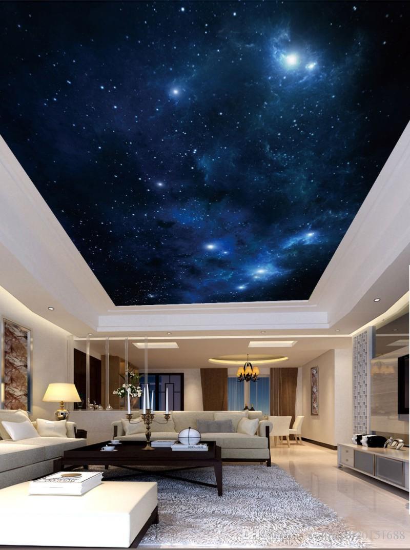 Modern 3d Photo Wallpaper Night Starry Sky Cosmic Zenith Wall Images, Photos, Reviews