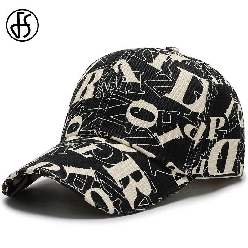 قبعات البيسبول FS الاتجاه الجديد للرجال سنببك الأبجدية Casquette الهيب هوب المرأة الرياضة في الهواء الطلق سائق الشاحنة قبعات Gorras الفقرة هومبر T200611