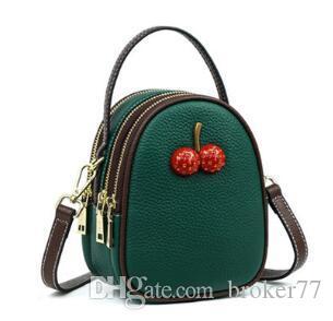 2020 fashion Women's shoulder bag girl Mobile phone bag Brand Designer bag charm Shoulder Bags Mini Small package kids purses 55